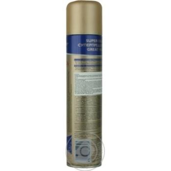 Лак Wellaflex Длительная поддержка объема для волос 400мл - купить, цены на Ашан - фото 5