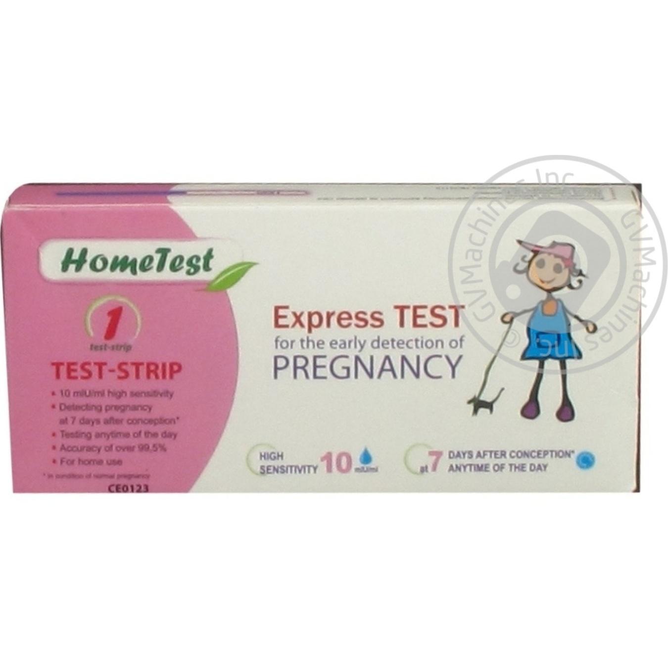 Тест на беременность бона