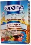 Каша Карапуз Мультизлаковая молочная с яблоком и персиком c 6 месяцев 250г