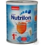 Суміш молочна Нутриція Нутрилон Джуніор 1+ суха дитяча з 1 року залізна банка 400г Голландія
