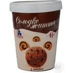 Морозиво Солодке життя з печивом карт.відро Рудь 450г