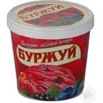 Морозиво йогурт лісова ягода Буржуй відерко 250г