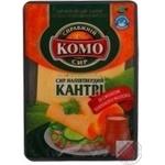 Сыр Комо Кантри полутвердый со вкусом топленого молока нарезанный ломтиками 50% 150г