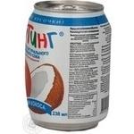 Напій Фрутінг з соком персика й шматочками кокоса залізна банка 238мл Росія - купити, ціни на МегаМаркет - фото 3