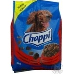 Корм для собак сухий Chappi Яловичина,птах3кг