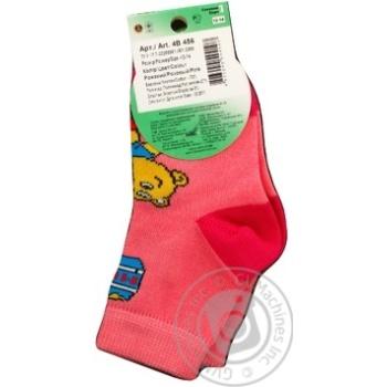 Носки Дюна детские белые 14-16р - купить, цены на Фуршет - фото 3