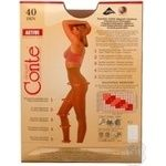 Tights Conte Active natural polyamide for women 40den 4size - buy, prices for Novus - image 5