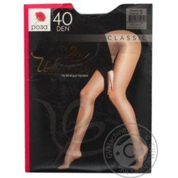 Intuicia Classic Women's Tights 40Den Black size 4 - buy, prices for MegaMarket - image 2