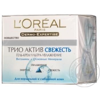 Гель-крем L'oreal Dermo Expertise для нормальної та комбінованої шкіри 50мл