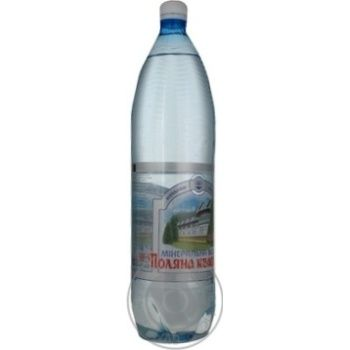 Sparkling mineral water Polyana Kvasova 1,5l
