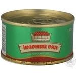 Caviar Ikornyy ryad red 130g can Ukraine