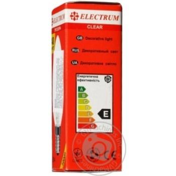 Лампа Electrum свеча 40W E14 A-IC-0013 - купить, цены на МегаМаркет - фото 5