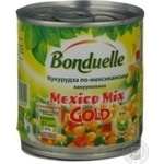 Vegetables corn Bonduelle corn mexican 170g can Hungary