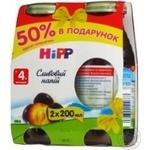 Напиток Хипп со сливой для детей 200мл стеклянная бутылка Венгрия