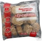 Cutlets with buckwheat Legko meat with meat 1000g Ukraine