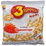 Сухари Три корочки красная икра 40г Украина