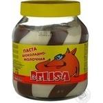 Pasta Belisa chocolate-milk 700g glass jar Russia