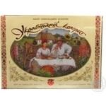 Конфета Житомирские ласощи Украинский колорит шоколад с начинкой 390г коробка Украина