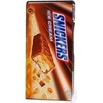 Мороженое Сникерс 288г картонная упаковка Россия