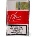 Сигареты Прима Оптима красная пачка