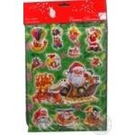 Стикеры рождественские Beauty Line 511058