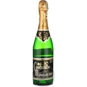 Шампанське н/солСоветс.Фуршет Ізм.0.75л