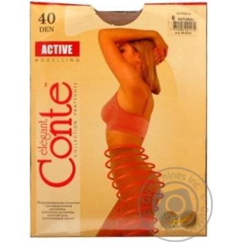 Колготы Conte Active 40 Den р.6 natural шт - купить, цены на Novus - фото 3