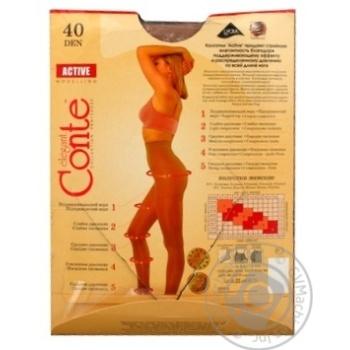 Колготы Conte Active 40 Den р.6 natural шт - купить, цены на Novus - фото 2