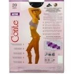 Колготы женские Conte Active 20ден р.3 Nero - купить, цены на СитиМаркет - фото 4