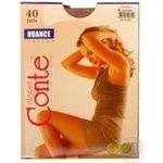 Tights Conte Nuance natural polyamide for women 40den 6size