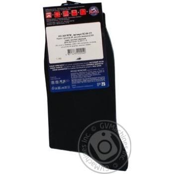 Шкарпетки чоловічі DiWaRi Classic 000 чорний р.25 пара - купити, ціни на Novus - фото 4