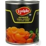 Apricots halves in light syrup Lorado 820g China