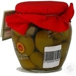 olive Casa rinaldi green with bone 590g glass jar Italy