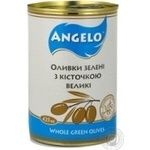 olive Angelo green with bone 425g can Spain
