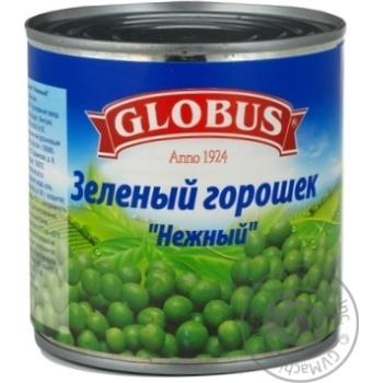 Горошок зелений Globus 420г