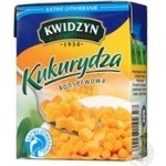 Vegetables corn Kwidzyn canned 380g cardboard box Poland