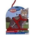 Повідок+шлея Trixie Світлодіодна для котів