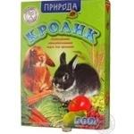 Корм для кроля сухий Природа 500г