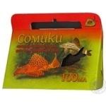 Корм для риб гранули Природа Сомікі 100мл