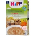 Dry dairy-free porridge HiPP 7 cereals for 6+ month babies 250g Croatia