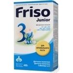 Infant milk drink Friso Junior 3 nucleotides for 1 to 3 years children 400g