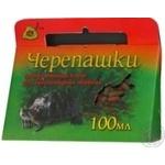 Корм для черепах сухий гранули Природа 100мл