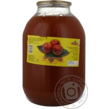 Сік Пуща-Водиця Яблучний з пізніх сортів неосвітлений 3л