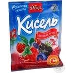 Kissel Deko with berries for desserts 65g Ukraine