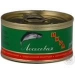 Ікра червона Камчатська риба 80г