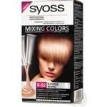 Фарба для волосся Syoss Mixing Colors 9-52 Блонд Мікс