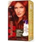 Paint-mousse Wellaton red cherry for hair Germany