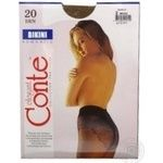 Tights Conte bronze polyamide for women 20den 2size - buy, prices for Novus - image 3