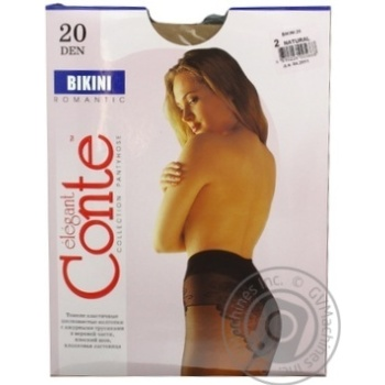 Tights Conte natural polyamide for women 20den 2size - buy, prices for Novus - image 3