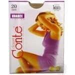 Tights Conte Nuance natural polyamide for women 20den 6size
